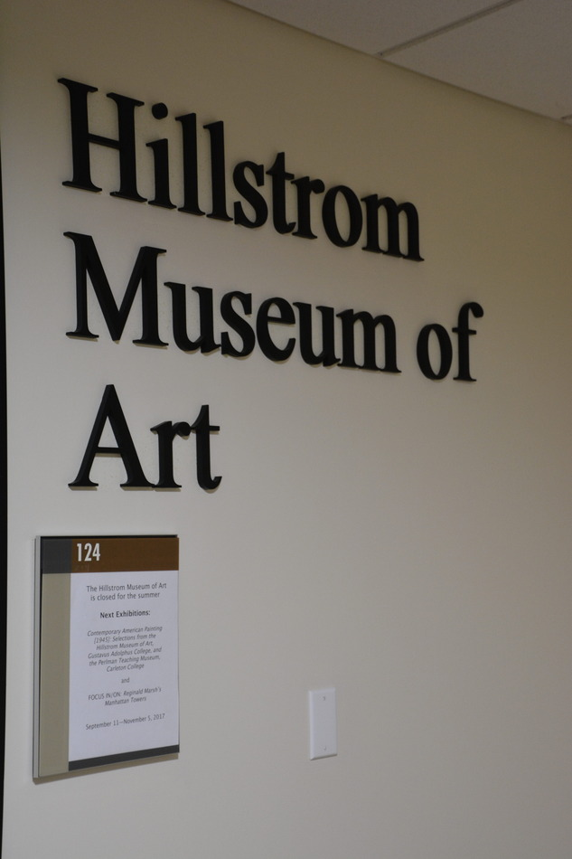 The Hillstrom Museum hosts various galleries throughout the year and its fall exhibit opens Monday.