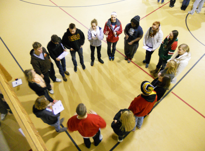 Gustavus fraternities and sororities, local and national, worked together in leadership activities. <em>Submitted</em>