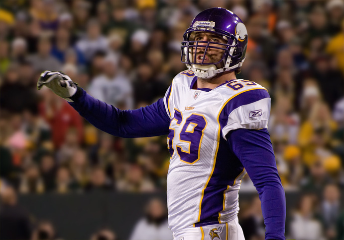 Defensive Lineman Jared Allen is among those who will not be returning to the Vikings for the 2014-15 season, after being traded to the Chicago Bears. Creative Commons