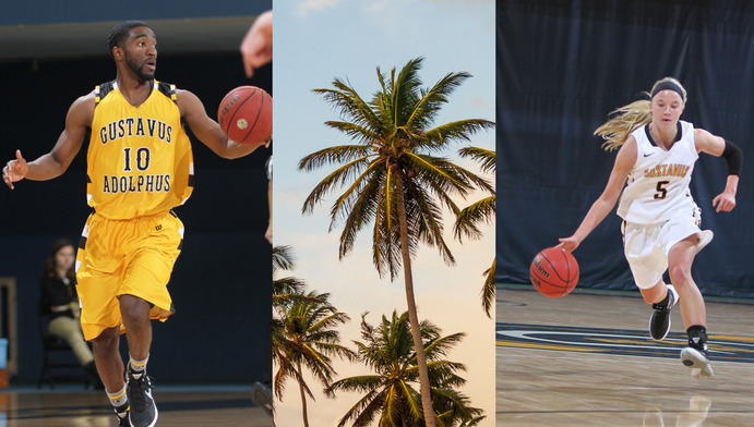 Men's and Women's Basketball left the Minnesota cold behind and flew down to San Juan, Puerto Rico this year for winter training. When not on the courts, you could find the teams on the beaches or even on a catamaran snorkeling trip together.