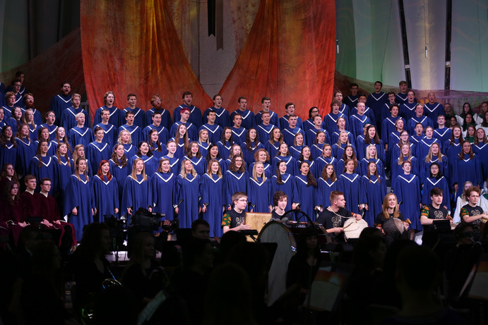 For many members of the Gustavus Choir, the Choir of Christ Chapel, and the St. Lucia singers, the upcoming Spring Concert will be their final performance on campus.