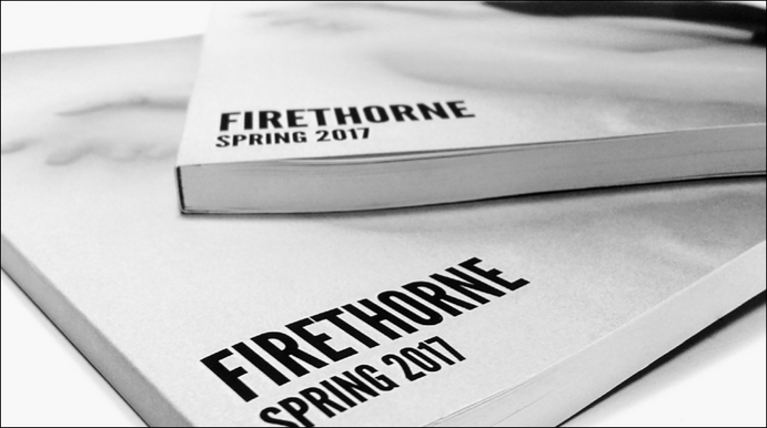 Firethorne is an annual, full-length color publication, produced in the spring. The editorial staff of Firethorne is comprised of students enrolled in English 350: Editing and Publishing.