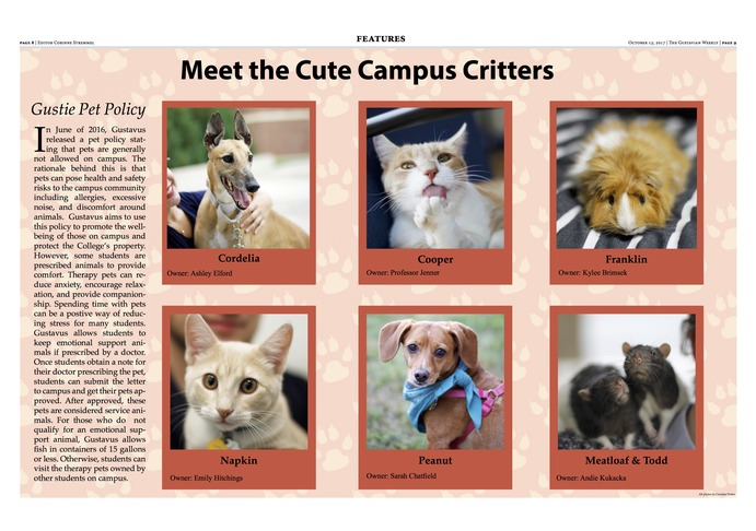 Meet the Cute Campus Critters