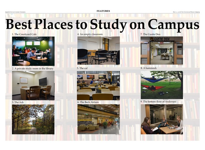 Best Places to Study on Campus